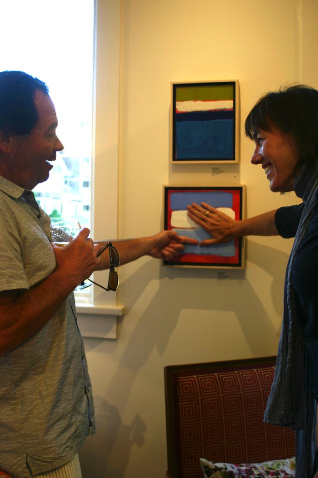 kelly-milukas-touching-her-art-with-taste-client