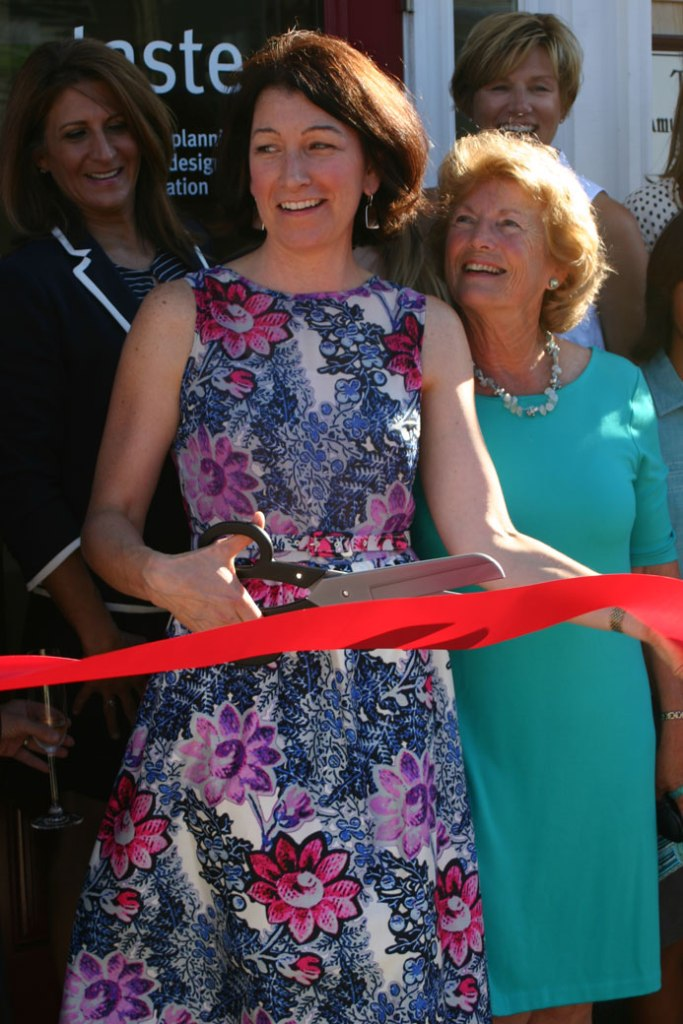 patti-watson-ribbon-cutting-at-taste-design-inc-jamestown-rhode-island