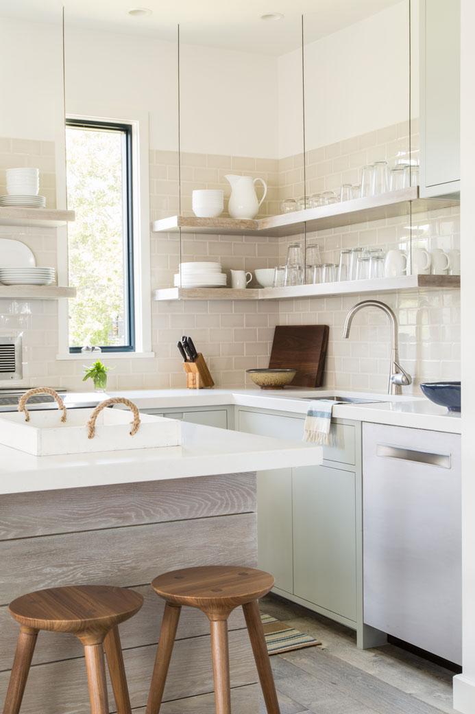 before and after kitchen renovation interior design taste design inc coastal cottage residential new england