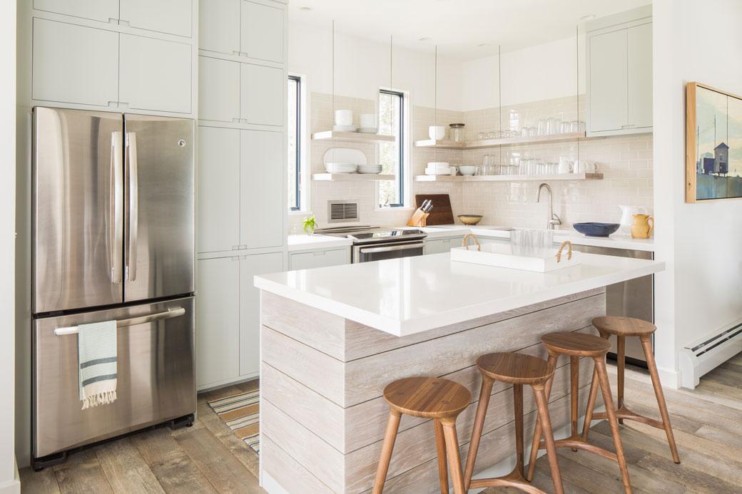 before & after kitchen interior design renovation