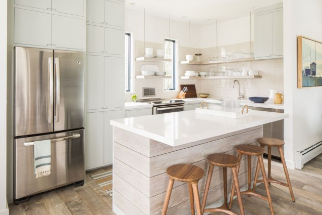 before & after kitchen interior design renovation