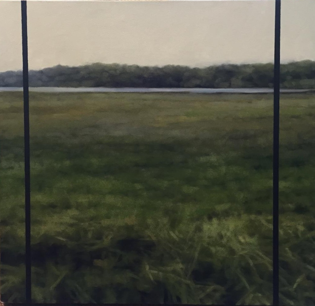 075A Peter Roux - Southern Coast no 2 - 24 x 24 - oil on canvas - 2750