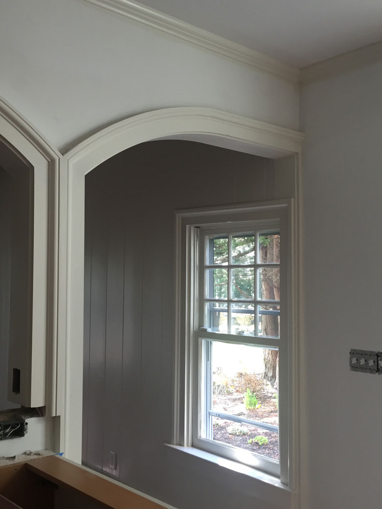 Kitchen To Dining Room Arch 2