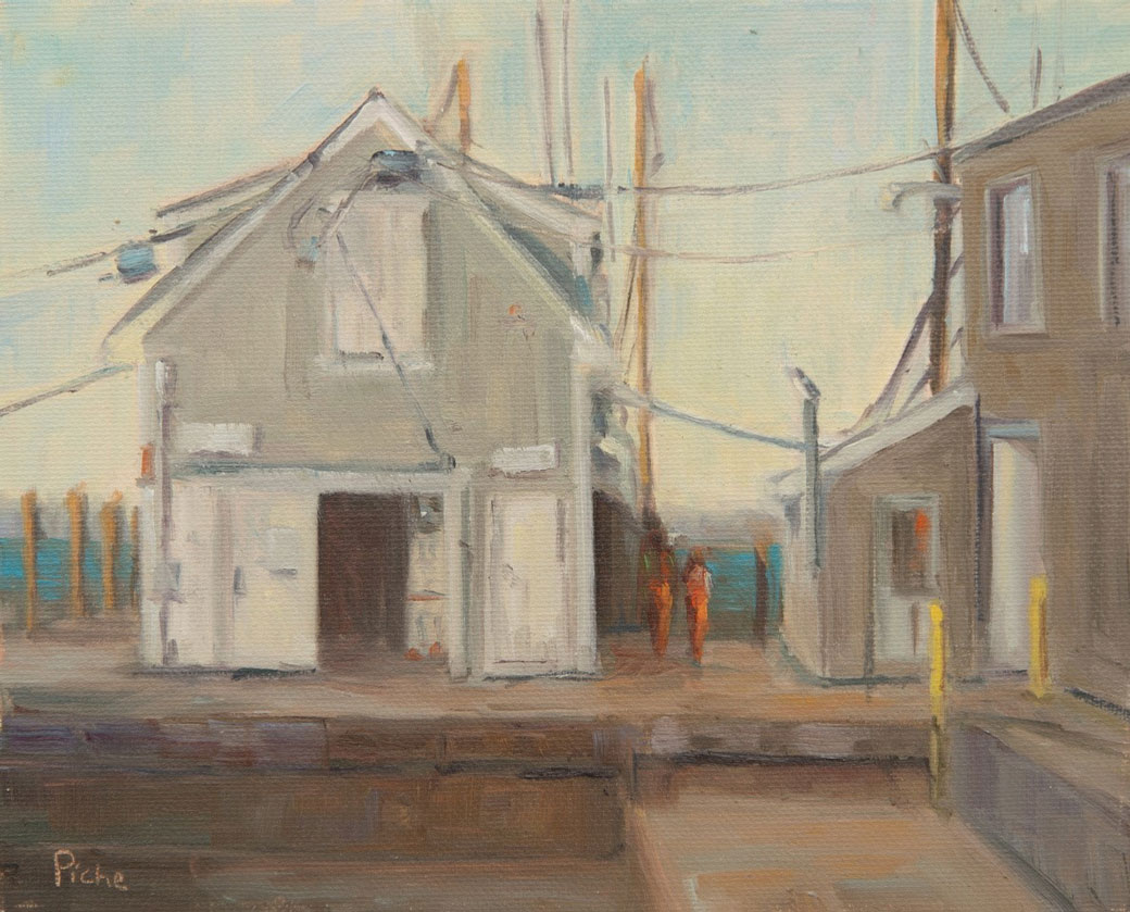 Vanessa-Piche---Galillee-Wharf---Oil-on-Panel---8-x-10-inches---395