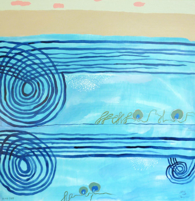 Christian-Drury-High-Tide-Acrylic-Water-Color-Mixed-Media-24-x-24-inches