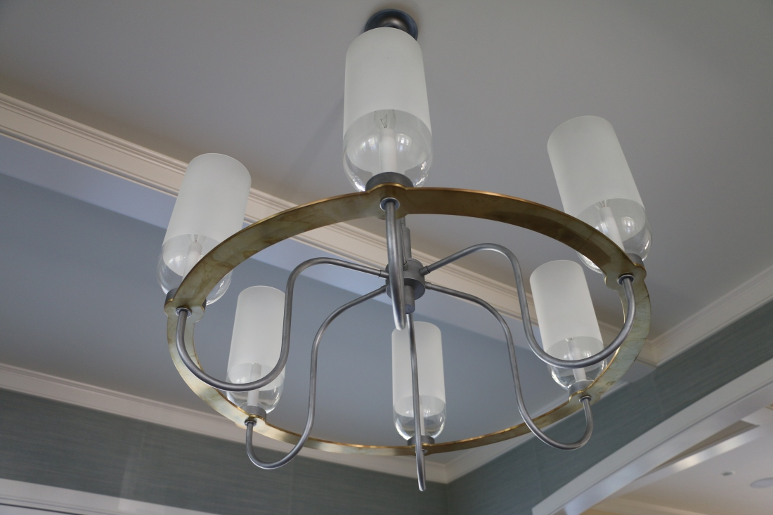 dining room light fixture 1
